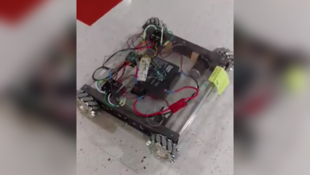 The in-progress robot as of 10/6/18